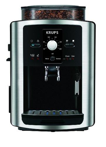 Krups-Espresso-Automatic-EA8010-Negro-Plata-1450-W-245-x-330-x-365-mm-Mquina-de-caf