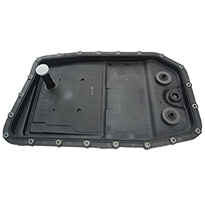 JSD LR007474 Engine 6HP26 Auto Transmission Oil Pan + Filter + Gasket with Screws for BMW Land Rover Jaguar 24152333903: Automotive
