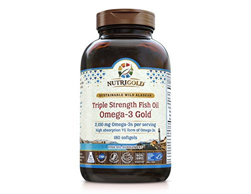 Nutrigold vitamin d3 gold in organic olive for Viva naturals triple strength omega 3 fish oil