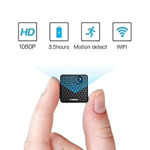 FREDI HD 1080P wireless ip telecamera spy cam mini