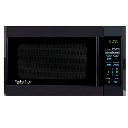 Half Time Oven HC 34 CTB UltraSpeed 4x Countertop Oven, Black By Half