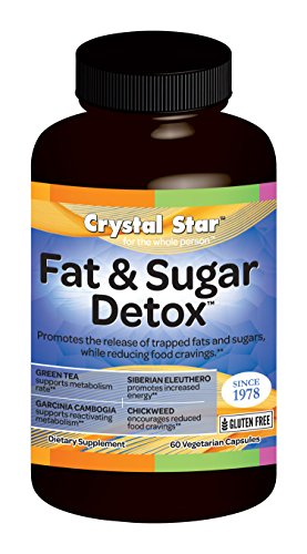 Crystal Star Herbal Vitamins (Crystal Star Fat and Sugar Detox Herbal Supplements, 60 Count)