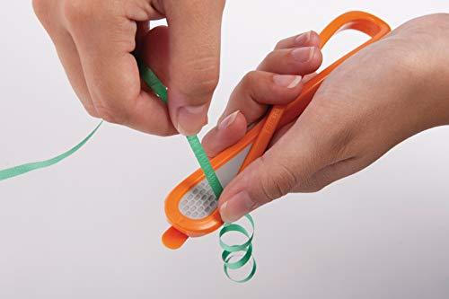 Arancione//Grigio Lunghezza totale: 16,6 cm 1004713 Acciaio di qualit/à//Plastica Fiskars Taglierino per carta