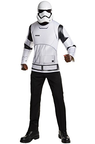 Star Wars: The Force Awakens Stormtrooper Costume Kit, Multi, (Movie Star Costume Ideas For Adults)