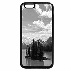 iPhone 6S Case, iPhone 6 Case (Black & White) - spirit-island