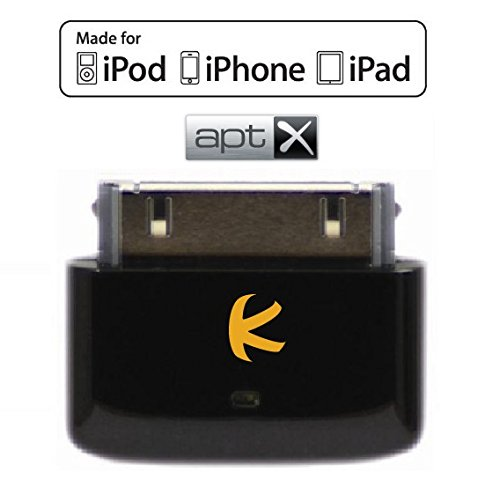 KOKKIA i10s + aptX (Luxurious Black) Tiny Bluetooth - Ipod Classic Bluetooth