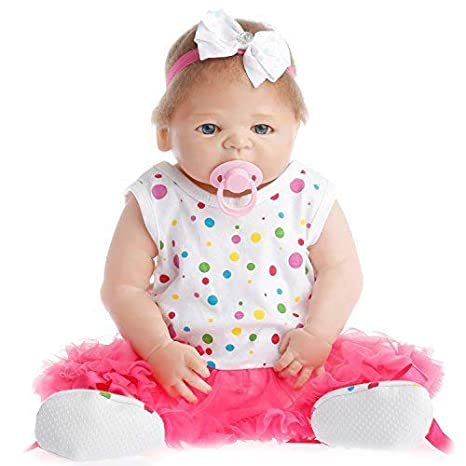 Amazon.com: NPK Collection Reborn Baby Doll realista Baby ...