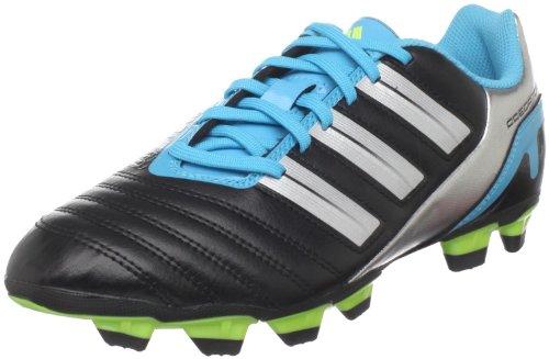 adidas Women's Predito_X TRX Fg W Soccer Cleat,Black/Silver Metallic/Intense Blue,10.5 C US (Shoes Adidas Predito Women)