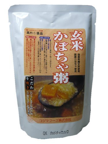 Kojima Foods organic brown rice pumpkin porridge <200g> 20 Kekesu sales goods by Kojima Foods