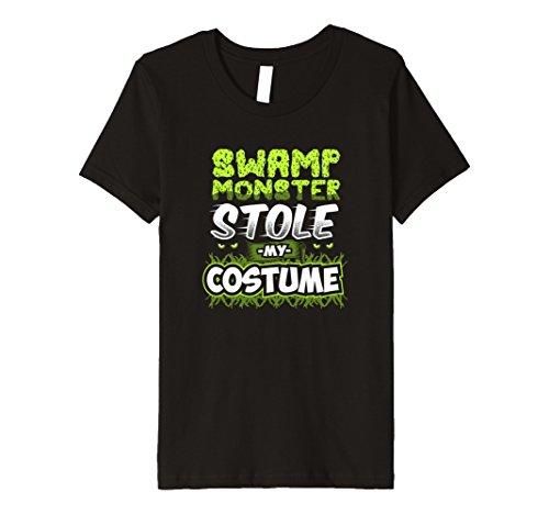 Kids Premium Swamp Monster Stole Halloween Costume Novelt T-Shirt 8 (Swamp People Halloween Costume)