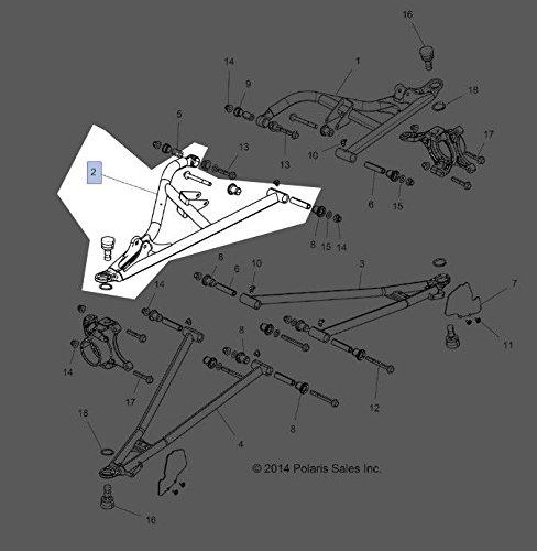 Amazon.com: Polaris 2016 RZR XP TURBO (R14) RZR XP 4 TURBO (R11) Weld Ctrl Arm Upr Fr Rh 64 Blk 1021941-458 New OEM: Automotive