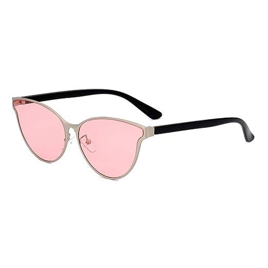 Yangjing-hl Gafas de Sol de Ojo de Gato de Moda Gafas de ...