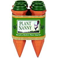 Plant Nanny 4-Count Recycle a Plastic Bottle Stake Set