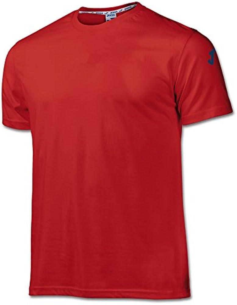 Joma Cotton, Camiseta para Hombre, Rojo: Amazon.es: Ropa y accesorios