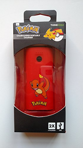 Think Geek Pokemon Portable Charger - Charmander Photo - Pokemon Gaming