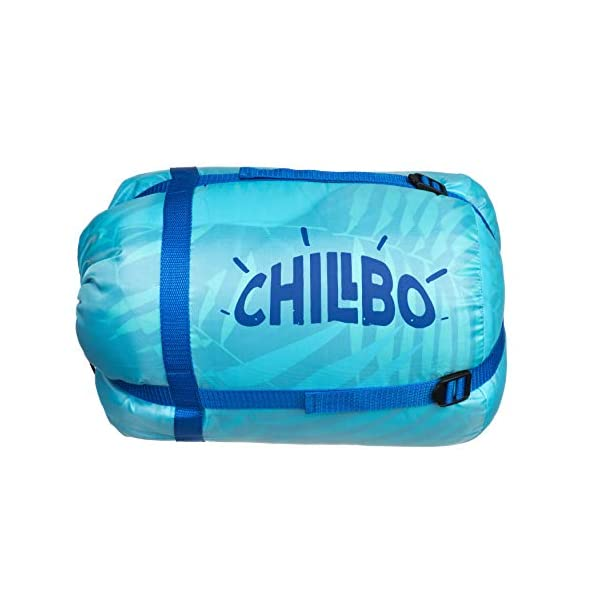 Chillbo Double Sleeping Bag for Adults Queen Sleeping Bag for Backpacking, Camping, Hiking & Music Festivals Cool Patterns Queen Size XL 2 Person Sleeping Bags for Adults 10