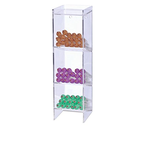 Narrow Acrylic - Narrow Acrylic Tube Rack 4.5