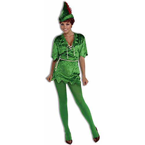 Women Peter Pan Costumes (Women's Peter Pan Costume - Medium/Large)