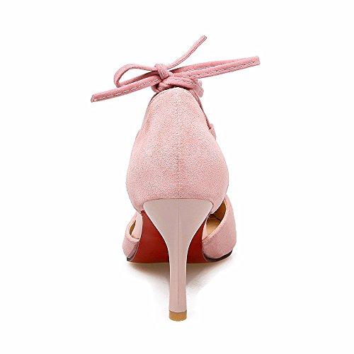 pie Pink tacón grande 11 sandalias señoras sandalias Corea de Dreamgirl correa 88 40 de de tiras 43 Código tazón de xpq8HfB