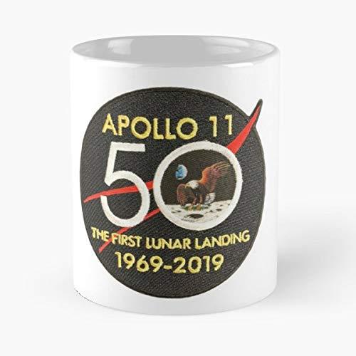 Apollo 11 Logo Emblem 50 Years Gift Mugs