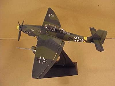 DRAGON WINGS 1/72 Scale Prefinished Fully-Detailed Diecast Model, Junkers Ju87G-2 Stuka Ground Attack Aircraft, 10.(Pz)/SG1, Ukraine 1944. 50258
