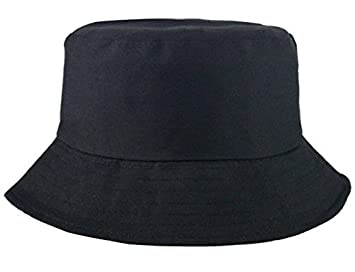 8cde80cc265 L L 100% Cotton Adults Bucket Hat Summer Fishing Fisher Beach Festival Sun  Cap UK (