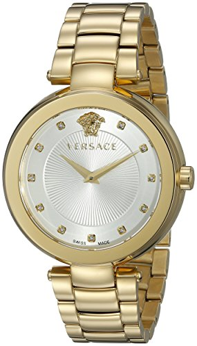 Versace Women's VQR060015 Mystique Analog Display Quartz Gold Watch