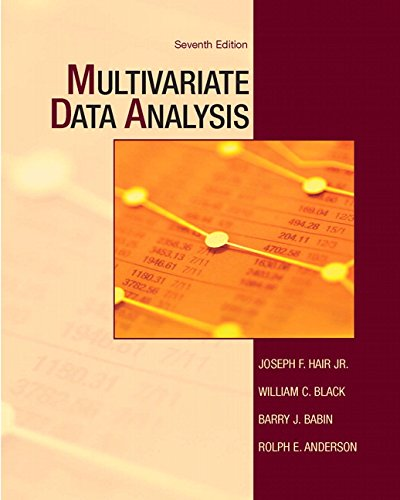 Multivariate Data Analysis (7th Edition) Pdf