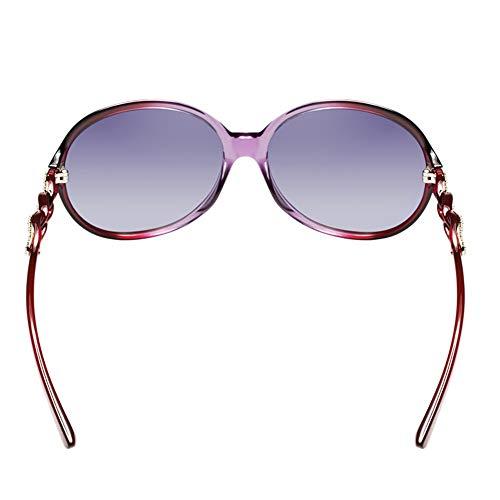 de de polarisées KHIAD Occasionnel UV Conduite Soleil Lunettes de Femme Miroir Lunettes Soleil AXpw6