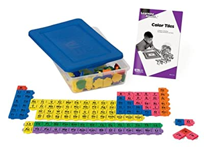ETA hand2mind Periodic Table Connecting Color Tiles