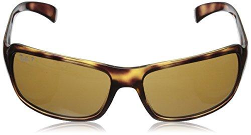 RB Havana Crystal 4075 Ban Sonnenbrille Polarized Brown Ray EqwUf7Bn