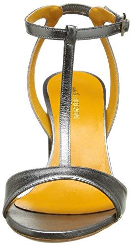 Atelier Mercadal Tecla 85 M5394 - Sandalias de tacón Mujer Plata