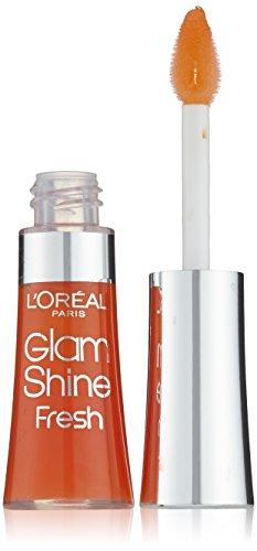 L'Oreal Paris Glam Shine Fresh Lip Gloss 6ml Aqua Mandarin 187