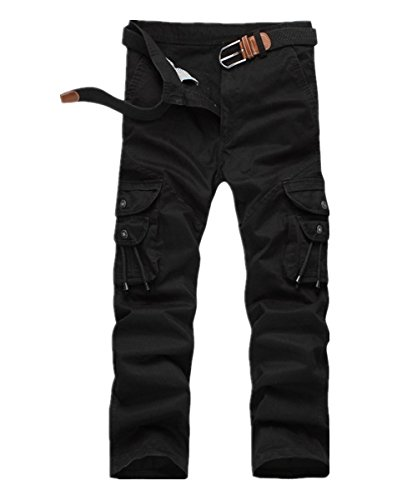 YOMAT Men's Loose Casual Outdoors Military Active Cargo Work Pant