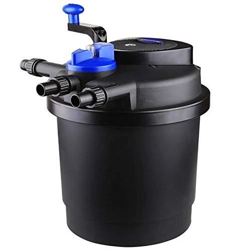 AQUANEAT 1600 Gal Pressure Pond Filter w/ 13W UV Sterilizer Koi Fish w/Water Pump (Pond Filter)