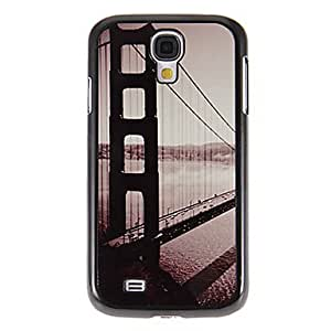 SUMCOM The Bridge Pattern Mirror Smooth Back Hard Case with HD Screen Film 3 Pcs for Samsung Galaxy S4 I9500