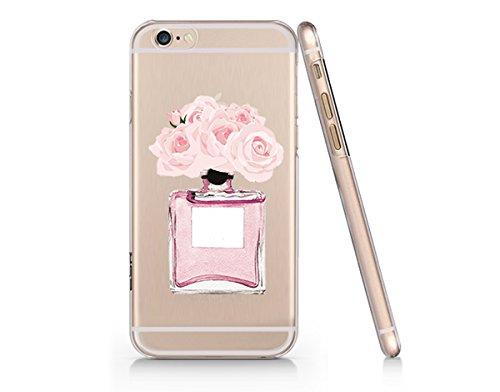 Perfume Flower Slim Iphone 6 6s Case, Clear Iphone Hard Cove