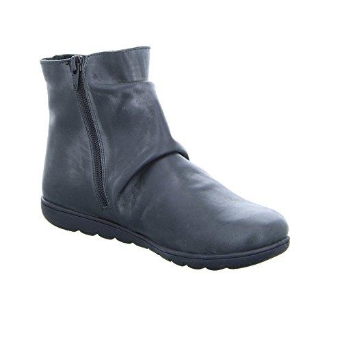 Dobrar Por Dessy 46739n Couro negro Você De Ankle Preto Senhoras Boot qqr7Bx16
