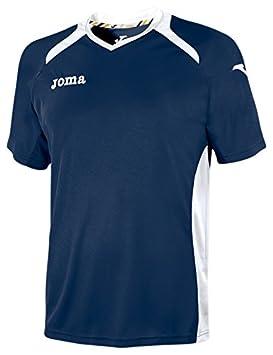 Joma - Camiseta Champion II Marino-Blanco m/c para Hombre