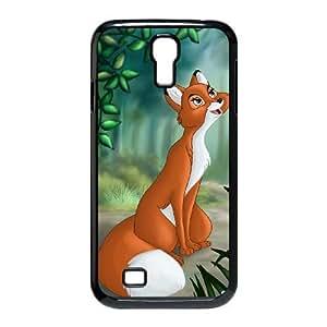 Samsung Galaxy S4 I9500 Phone Case Black Fox and the Hound 2 MG669392