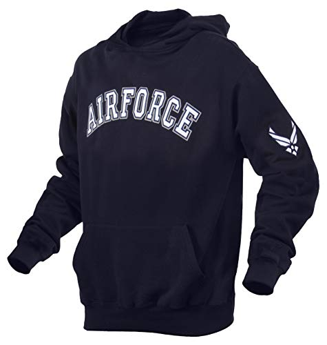 Rothco Air Force Pullover Hoodie, Blue, X-Large