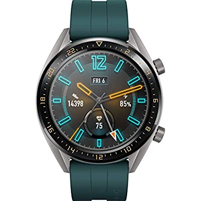 Huawei Watch GT Active Smartwatch, Display Touch 1.39″ AMOLED, Fitness Tracker con GPS, Rilevazione Battito Cardiaco, Resistente all'Acqua 5 ATM, Verde Scuro