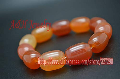 (Natural Precious Stone Colorful Stone Barrel Shaped Beads Prayer Bracelets | for Men and Women (1pc))
