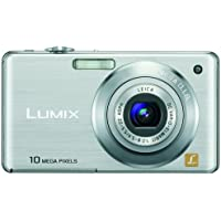 Panasonic Lumix DMC-FS7 10MP Digital Camera with 4x MEGA Optical Image Stabilized Zoom and 2.7 inch LCD (Silver) Noticeable Review Image