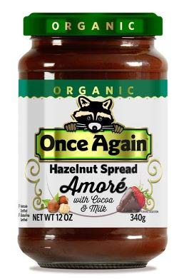Once Again Organic Amore Hazelnut Spread With Cocoa and Milk