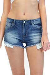 Stay in budget and look great with these soft stretchy Butt Lifting Shorts that hugs your body and enhance your curves, These stretch Amazing Shorts are both slimming and fashionable, metal button and zipper closure, functional front pockets,...