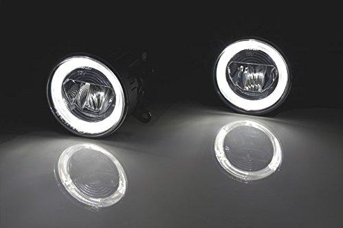 149900301 - LED Luz diurna/Antiniebla Cromo Redondo 90 mm R87 DRL: Amazon.es: Coche y moto
