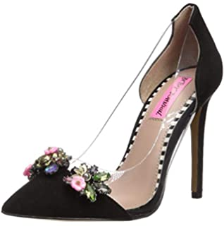 9d4dd6eb218 Amazon.com | Betsey Johnson Women's PRINCE d'Orsay Pump | Pumps