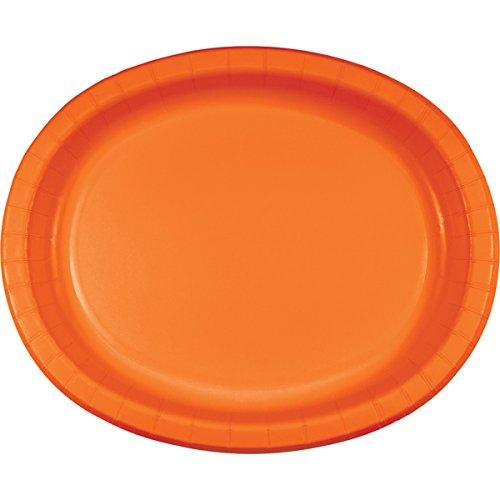 Creative Converting Platters Sunkissed Orange