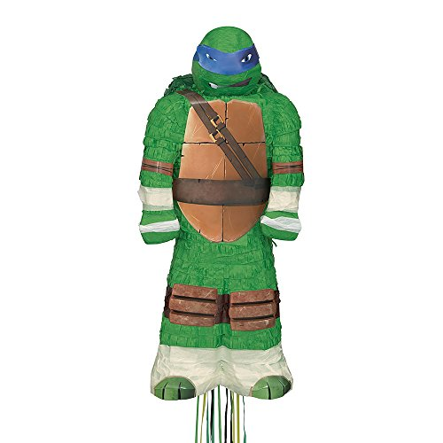 Leonardo Teenage Mutant Ninja Turtles Pinata, Pull String -
